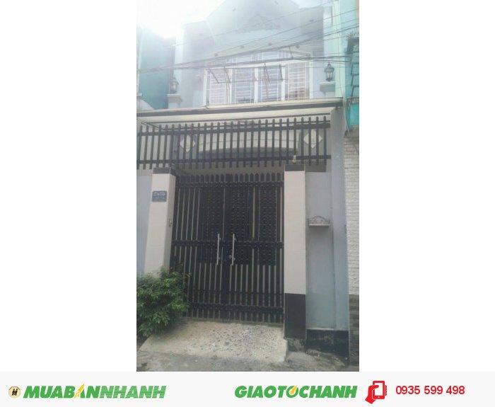 Bán nhà 1 trệt 1 lầu hẻm đường Thoại Ngọc Hầu , 4mx15m, 2.18 tỷ, P.Phú Thạnh, Q. Tân Phú.