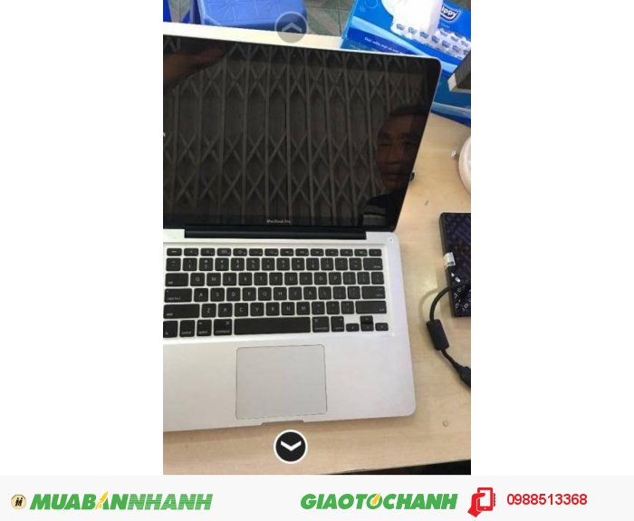 Macbook pro 2011 MC700LL/A core i5 máy chạy mượt, rất tốt