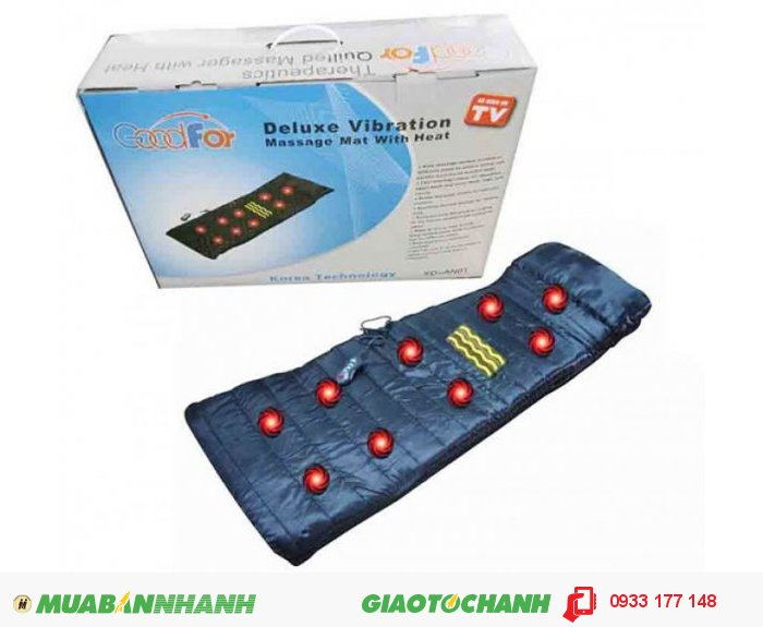 Bộ sản phẩm bao gồm:  1. Nệm massage  2. Remote. 3. Adapter 4. Sách hướng dẫn sử dụng