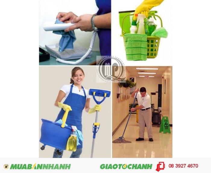 Dịch vụ vệ sinh văn phòng, căn hộ cao cấp, khách sạn tại TP.HCM