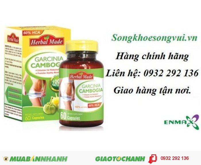 Viên uống giảm cân Garcinia Cambogia0
