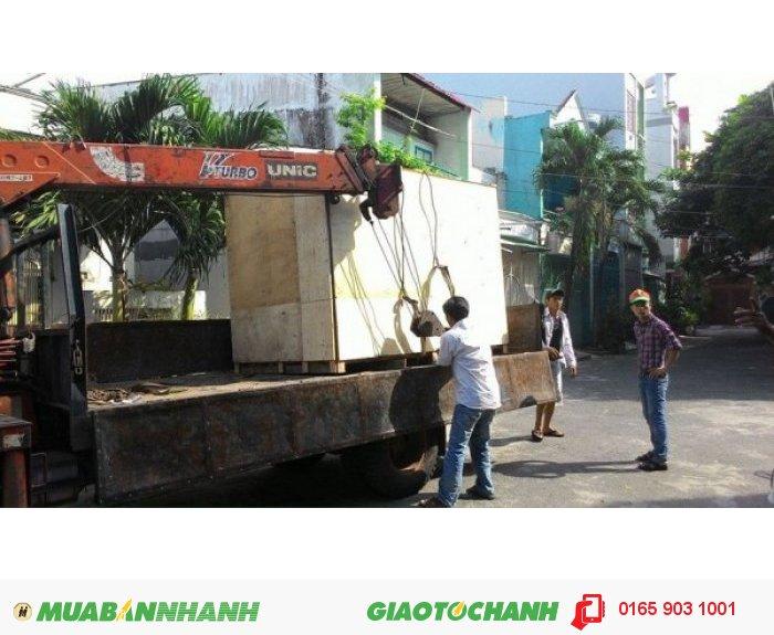 Chuyển máy rang tới Campuchia cho khách hàng.