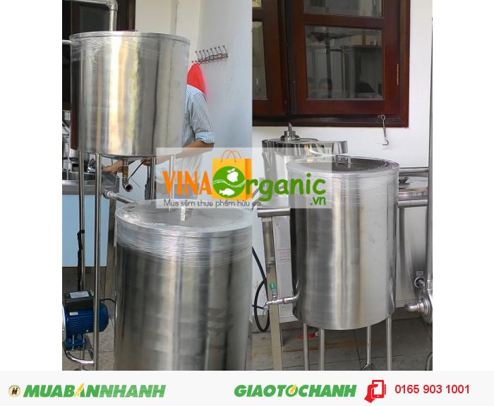 Thiết bị làm lạnh do VinaOrganic sản xuất