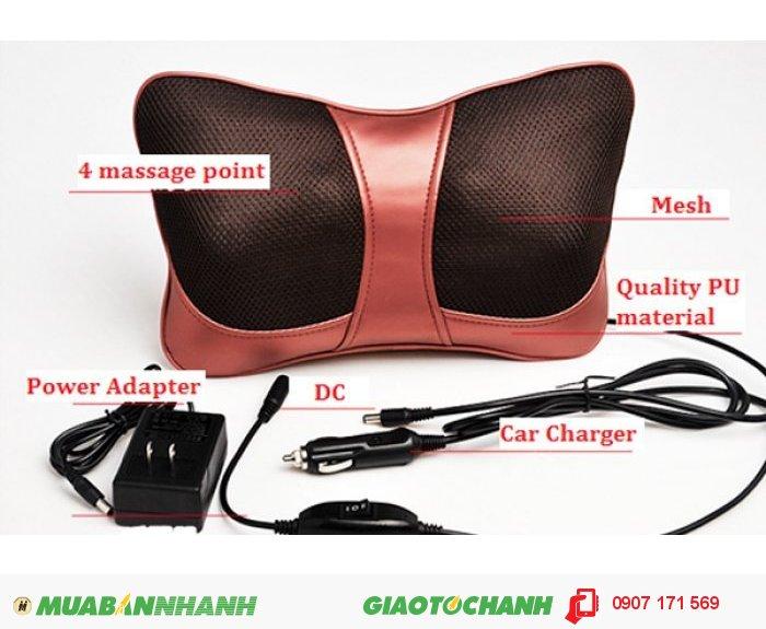 Gối Massage Hồng Ngoại Magic Pillow Pl818