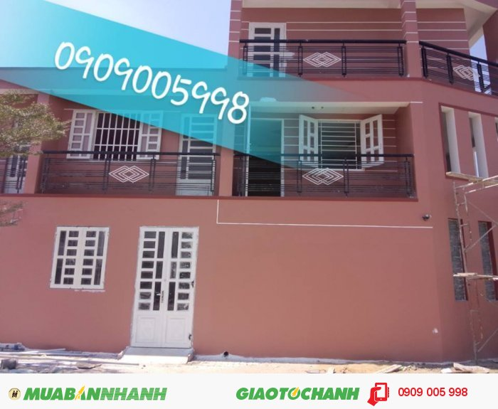Nhà 5.6 x 10m (93m2), giá 360 triệu/căn, xây đẹp chất lượng, góp 2 năm không lãi