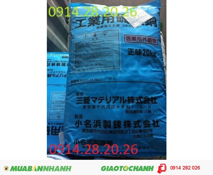Bán Copper-Sulfate CuSO4-Đồng-Sunphat0