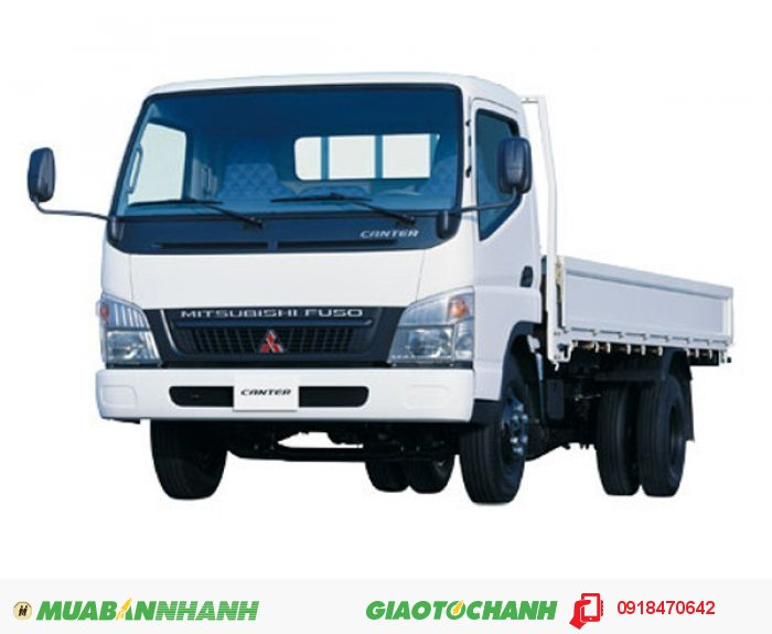 Xe tải Fuso Canter 4.7LW Tải trọng 1,9 tấn