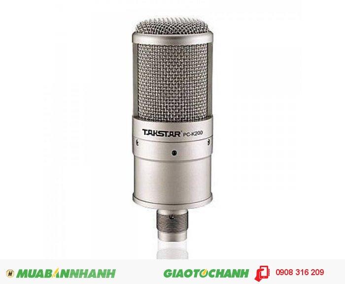 Micro karaoke - Micro Thu Âm Takstar K200, hàng chính hãng2