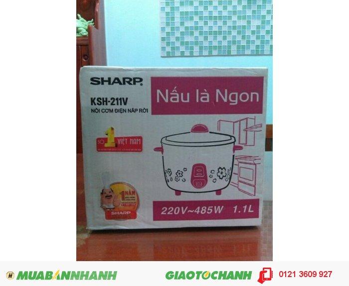Nồi cơm điện Sharp KSH-211V 1.1 lít