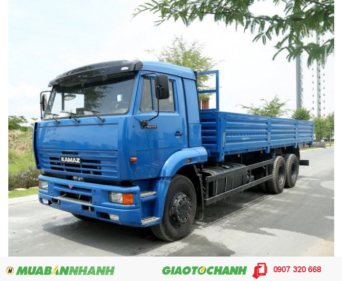 Xe tải thùng Kamaz nhập khẩu nguyên chiếc
