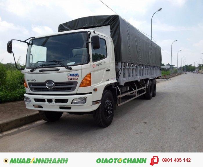 Bán trả góp xe tải Hino FL 3 chân thùng dài 7,8m-9.4m Giao Xe Các Tỉnh