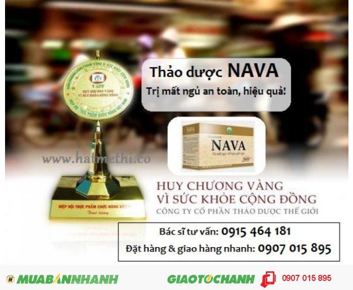 Thảo dược NAVA chữa khỏi bệnh mất ngủ