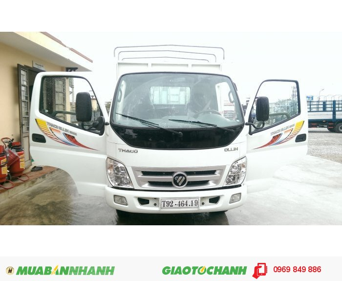 Xe tải Thaco ollin 900a ,500b trường hải , để được hỗ trợ
