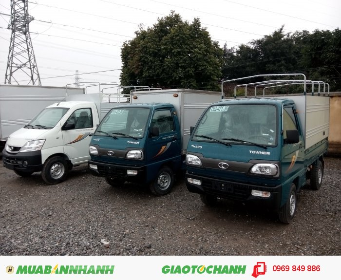Thaco Forland Số tay (số sàn) Xe tải động cơ Xăng