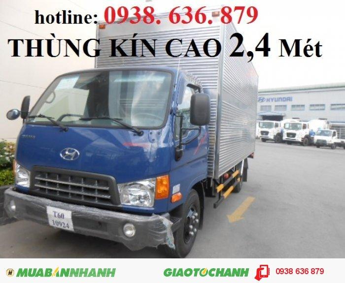 HYUNDAI HD98 (6,5 TẤN) - HD85(5TẤN) Nhập Khẩu Giá chỉ 188tr | Xe giao liền