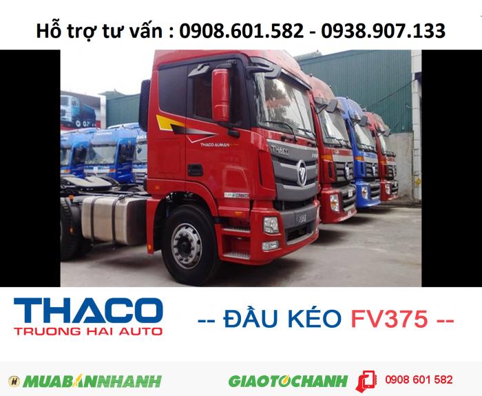 Xe đầu kéo thế hệ mới Thaco Auman FV375 (6x4) - Giá ưu đãi !