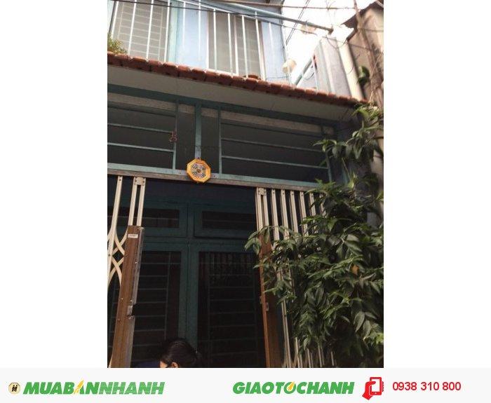 Bán nhà Mai Xuân Thưởng, P.4, Q.6, Dt 3.5x7m, giá 1 tỷ/TL