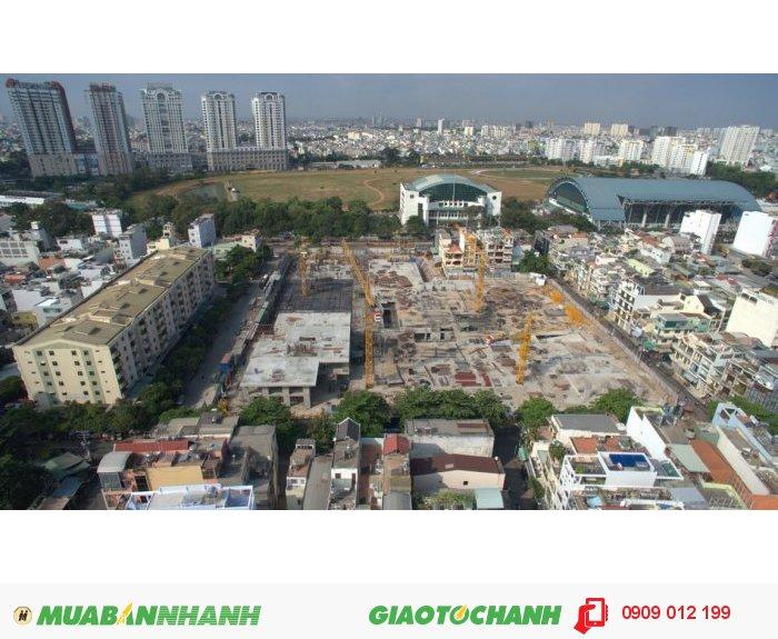 Căn hộ 7 tầng thương mại ngay trung tâm Q10 cam kết ra sổ hồng trong 9 tháng.
