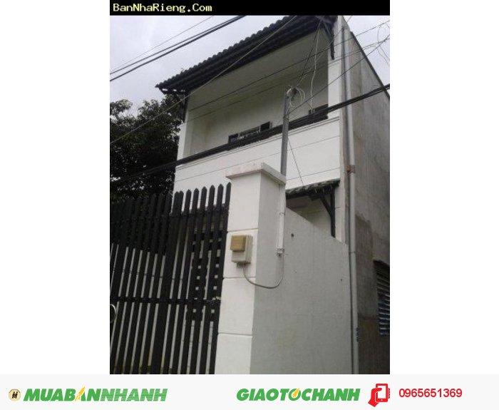 Nhà giá rẻ đường Phan Văn Hớn có sổ 270tr