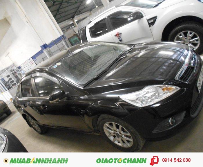 Bán Ford Focus 1.8 MT_sedan sx 2010 màu đen bstp 1