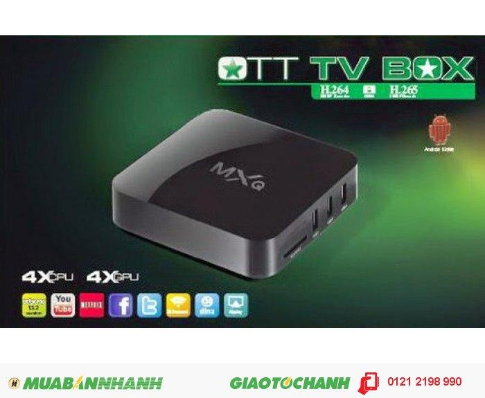 Tivi box Androi MXQ