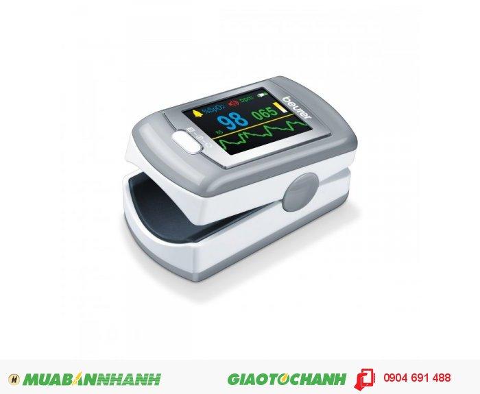 Máy đo nồng độ bão hòa Oxy trong máu (SpO2) và nhịp tim Beurer PO80 kết nối với máy tính của CHLB Đức hàng nhập khẩu chính hãng - Công ty Hợp Phát