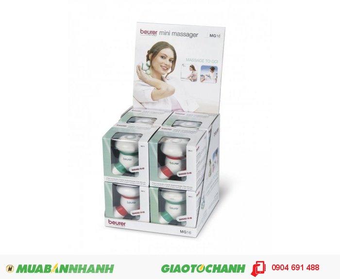 Máy massage toàn thân cầm tay mini Beurer MG16 của CHLB Đức hàng nhập khẩu chính hãng - Công ty Hợp Phát