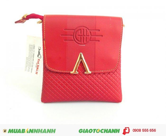 Túi nữ đeo chéo đựng iPad | Ngoài màu nâu, màu đỏ trẻ trung dành cho các bạn nữ