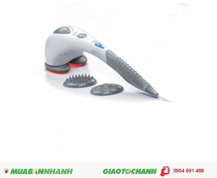 Máy massage toàn thân cầm tay 2 đầu Beurer MG80 đèn hồng ngoại của CHLB Đức hàng nhập khẩu chính hãng