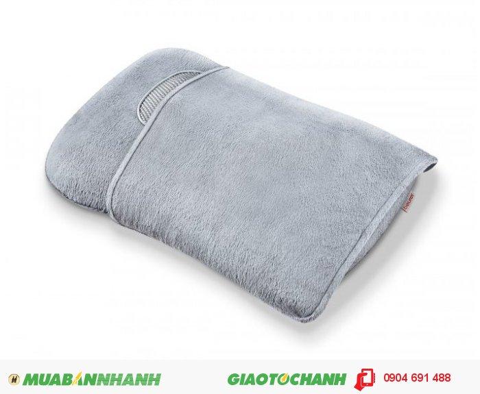 Gối massage Shiatsu cổ vai gáy lưng Beurer MG145 chức năng nhiệt của CHLB Đức hàng nhập khẩu chính hãng - Công ty Hợp Phát