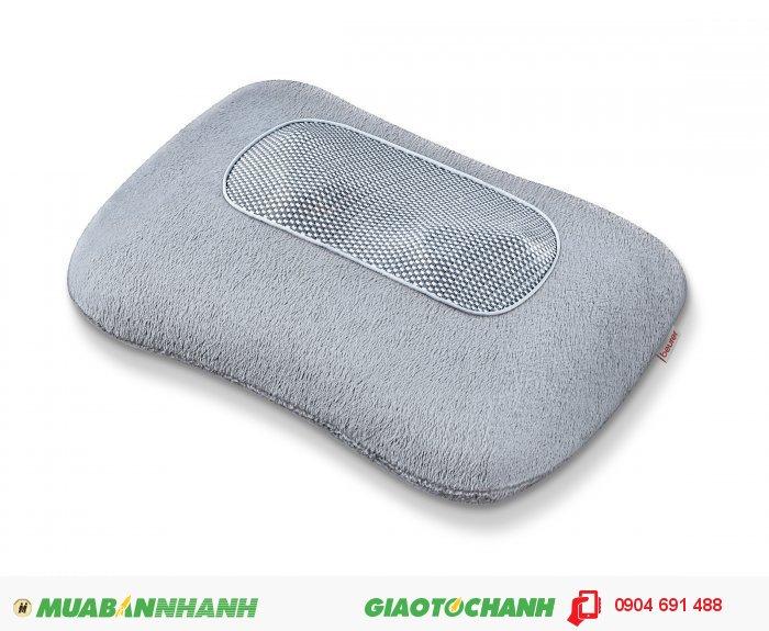 Gối massage Shiatsu cổ vai gáy lưng Beurer MG145 chức năng nhiệt của CHLB Đức hàng nhập khẩu chính hãng