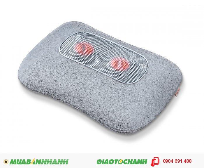 Gối massage Shiatsu cổ vai gáy lưng Beurer MG145 chức năng nhiệt của CHLB Đức