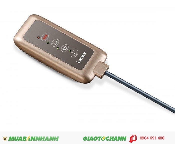 Gối massage Shiatsu cổ vai gáy lưng đa năng Beurer MG147 chức năng nhiệt của CHLB Đức hàng nhập khẩu chính hãng