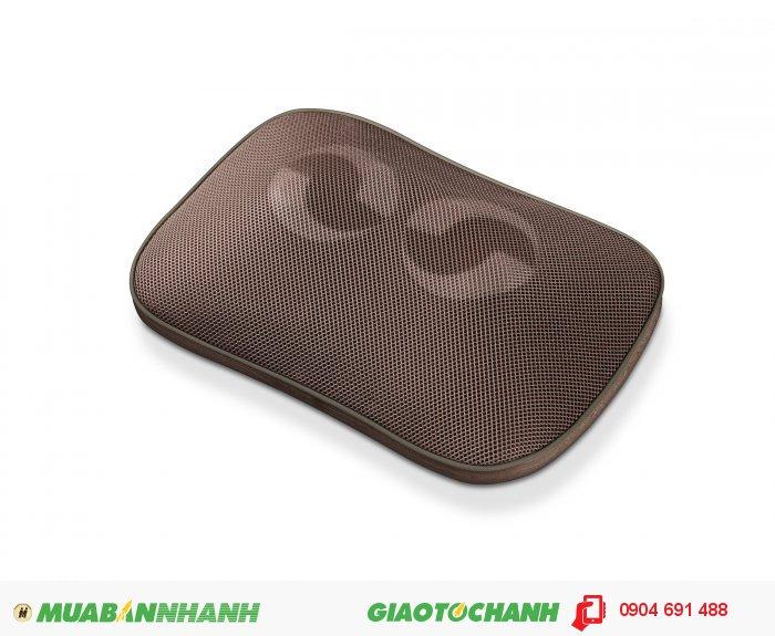 Gối massage Shiatsu cổ vai gáy lưng đa năng Beurer MG147 chức năng nhiệt của CHLB Đức