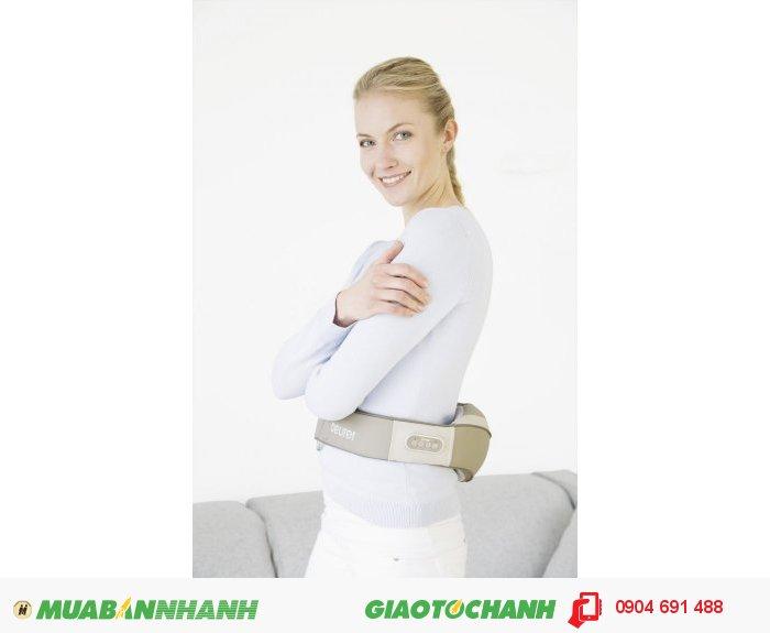 Vòng Đai massage Shiatsu cổ vai gáy lưng đa năng Beurer MG148 chức năng nhiệt của CHLB Đức hàng nhập khẩu chính hãng