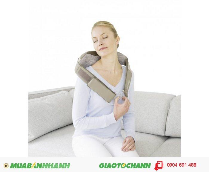 Vòng Đai massage Shiatsu cổ vai gáy lưng đa năng Beurer MG148