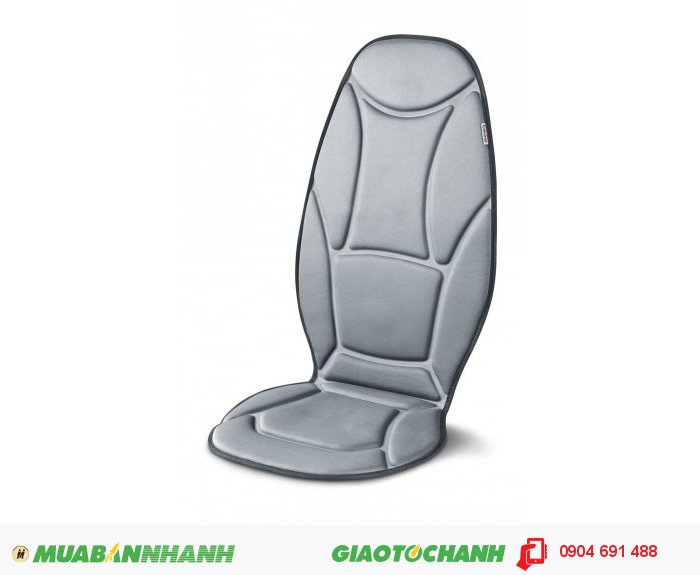 Đệm ghế massage ô tô Beurer MG155 chức năng nhiệt sưởi ấm của CHLB Đức hàng nhập khẩu chính hãng - Công ty Hợp Phát
