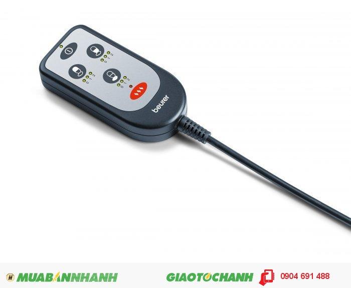 Đệm ghế massage ô tô Beurer MG155 chức năng nhiệt sưởi ấm của CHLB Đức hàng nhập khẩu chính hãng