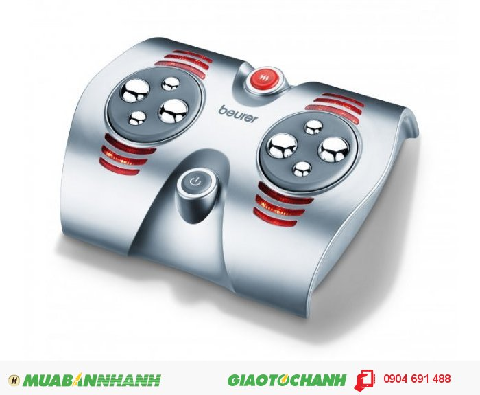 Máy massage chân Shiatsu Beurer FM38 đèn hồng ngoại của CHLB Đức hàng nhập khẩu chính hãng
