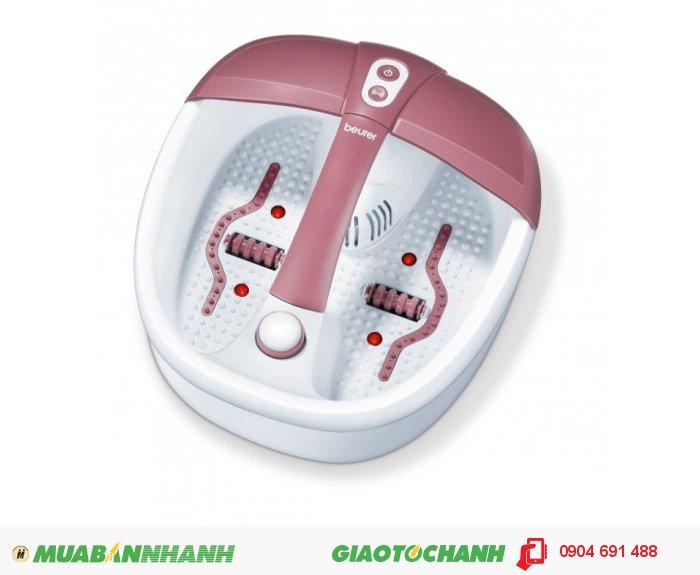 Bồn ngâm chân giữ ấm nước Beurer FB35 massage rung và sủi, liệu pháp hương thơm của CHLB Đức hàng nhập khẩu chính hãng - Công ty Hợp Phát