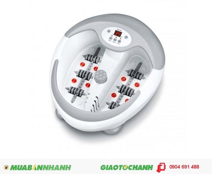 Bồn ngâm chân massage đa năng Beurer FB50 làm nóng nước, đèn hồng ngoại của CHLB Đức hàng nhập khẩu chính hãng - Công ty Hợp Phát