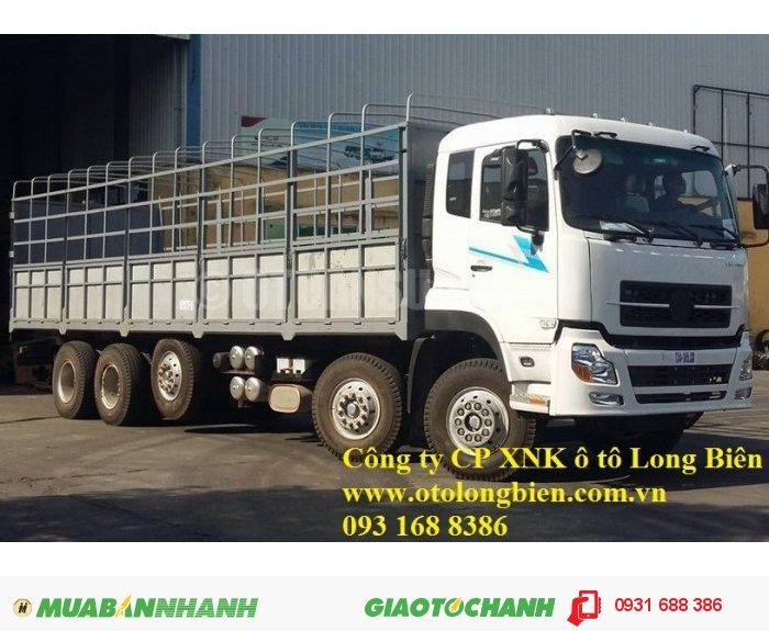 Xe tải thùng 5 chân Dongfeng tải trọng 21-22,5 tấn Long Biên, Hà Nội 2016
