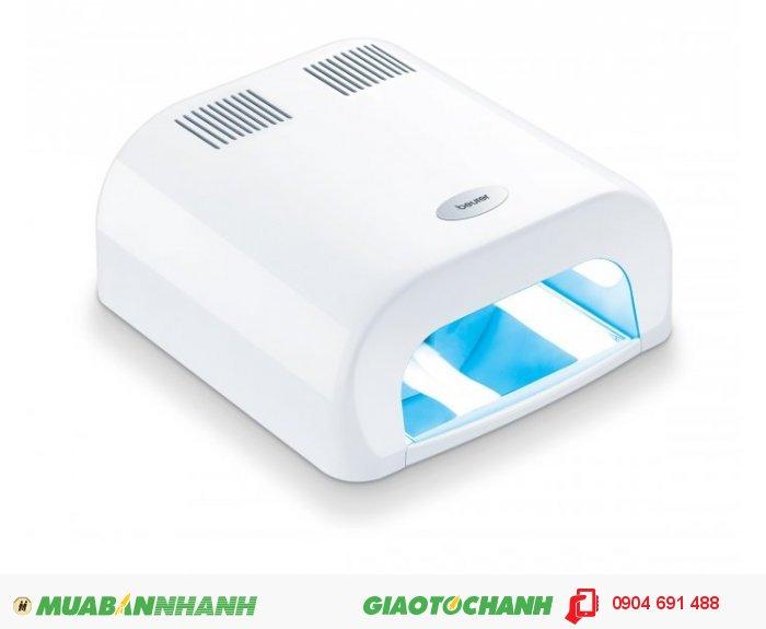 Máy sấy khô móng tay chân nail gel UV Beurer MP38 hẹn giờ tự động tắt của CHLB Đức hàng nhập khẩu chính hãng - Công ty Hợp Phát