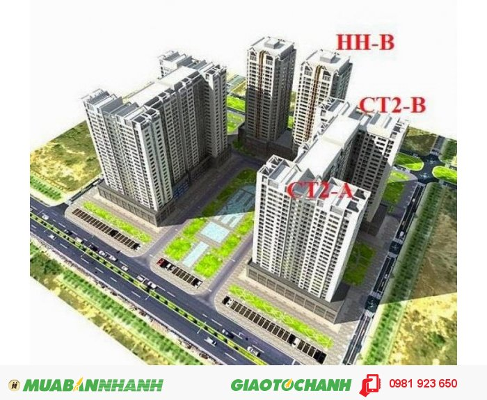 Gia đình bán gấp căn hộ 90,6m2 Chung cư HHB Tân Tây Đô – Hải Phát