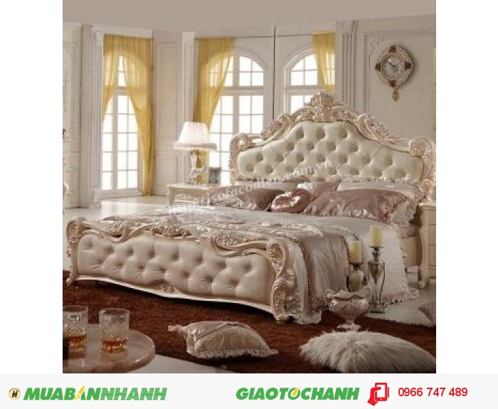 Giường ngủ cổ điển | giường cổ điển đẳng cấp