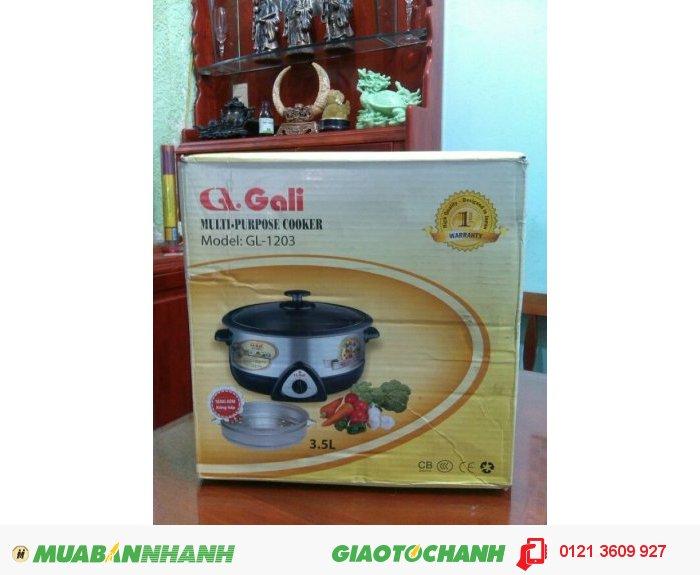 Lẩu điện đa năng Gali GL - 1203, 3.5 lít