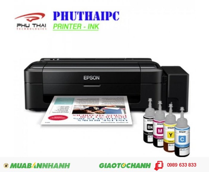 Phú Thái PC- Phân phối máy in màu Epson L310 chính hãng0