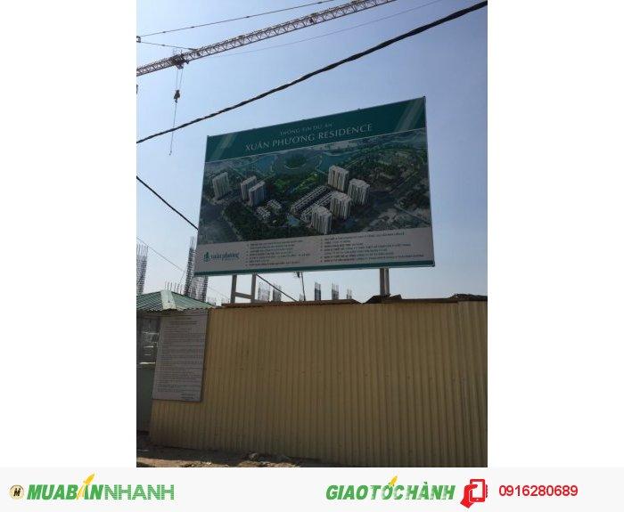 Chung cư Xuân Phương Residence 1.3 tỷ/căn. Giá hạt rẻ - Trúng SJC