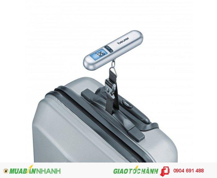 Cân hành lý điện tử bỏ túi mini Beurer LS06 có thước đo dài 1m thích hợp đi du...