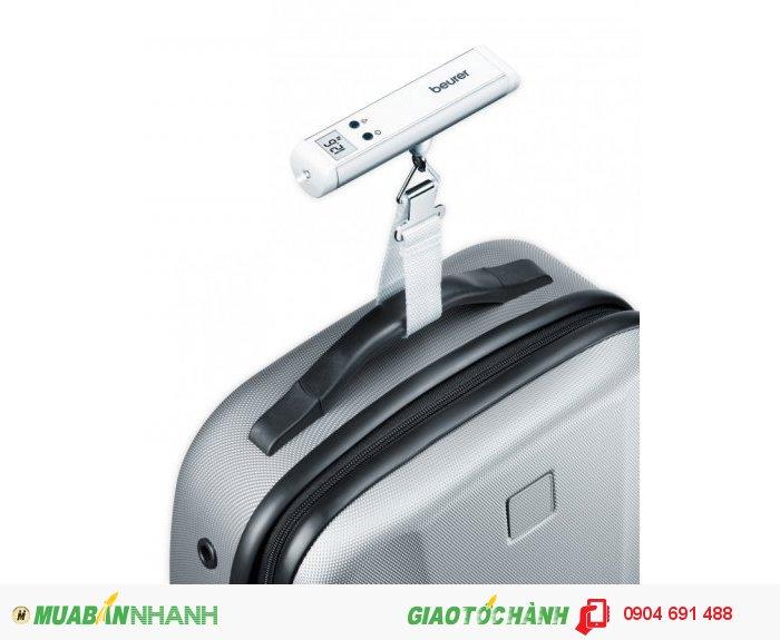 Cân hành lý điện tử bỏ túi mini Beurer LS10 có đèn Flash thích hợp đi du lịch c�...
